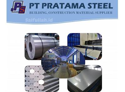 Lowongan Kerja Driver & Helper PT. Pratama Steel Pontianak