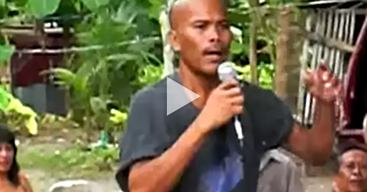 This Filipino's rendition of a Bee Gees song is simply amazing