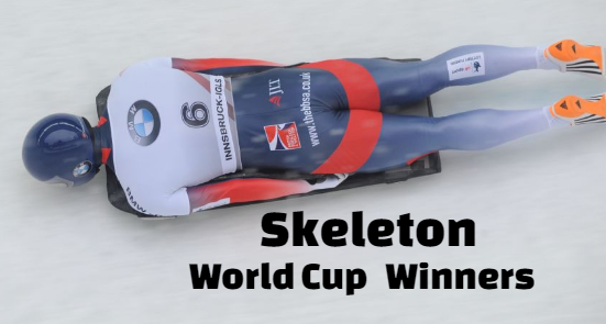 Skeleton World Cup , Men's, Women's, Winners-Champions, podiums.
