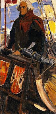 Estudio para cristobal colon, Joaquín Sorolla Bastida, Joaquín Sorolla Bastida, Retratos de Joaquín Sorolla, Joaquín Sorolla, Pintor español, Retratista español, Pintores Valencianos