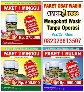 Jual AMBEJOSS & SALWA Di Bantul (Obat Ambeien Tanpa Operasi). Telp/SMS/WA : 082326813507