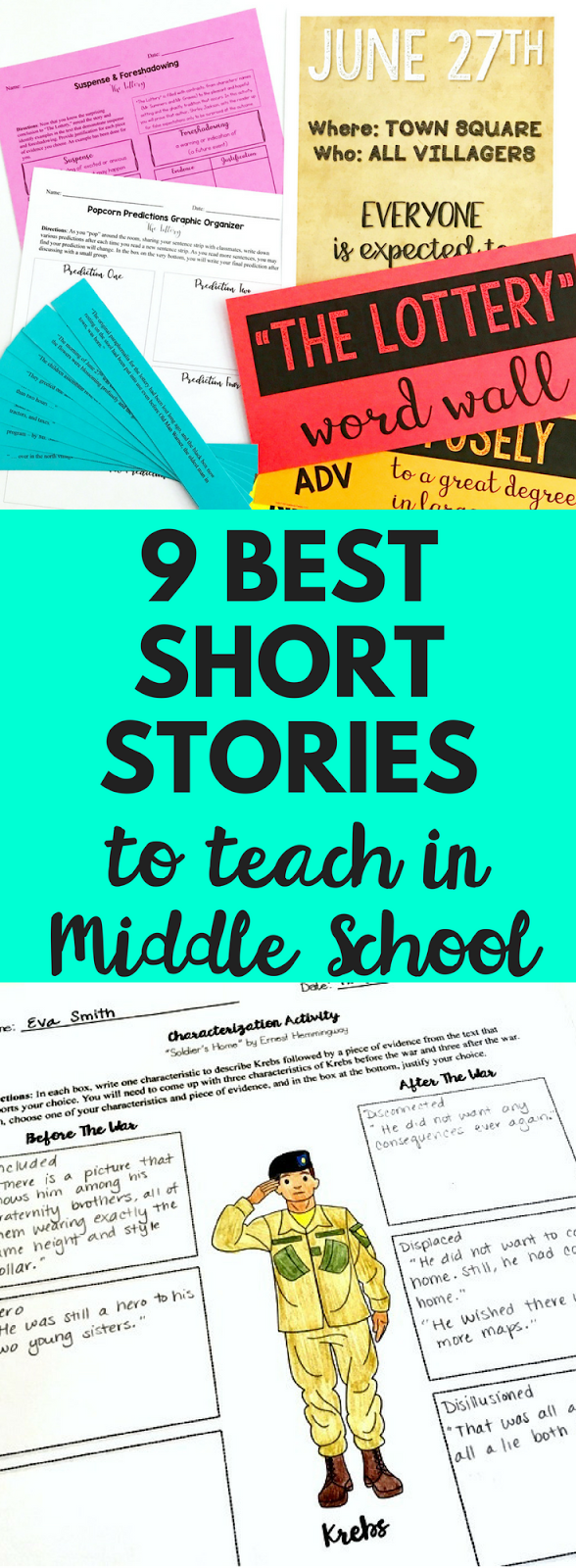 The 9 Best Short Stories for Middle School Students - EB Academics