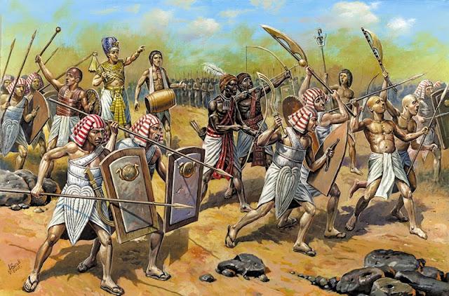 Batalla-Qadesh-Egipcios