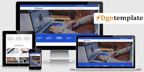 Affiliation Responsive Blogger Template-dgntemplate