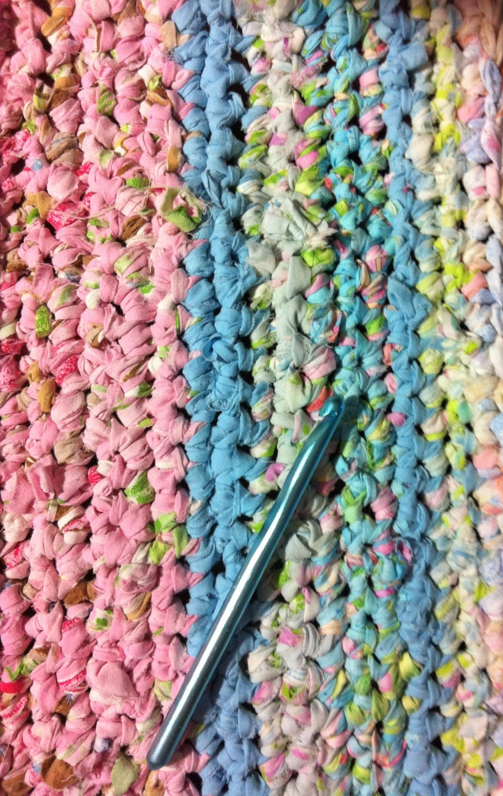 Nifty Thrifty Bits How To Make A Rag Rug