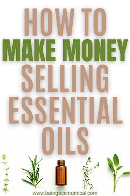 start essential oils business