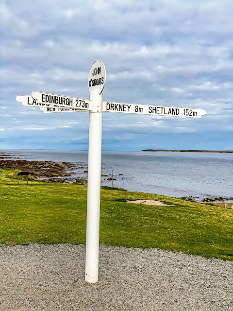 Scotland by Rail part 3 - John O'Groats is inspiring, the famous sign by Mandy Charlton Photographer, writer blogger