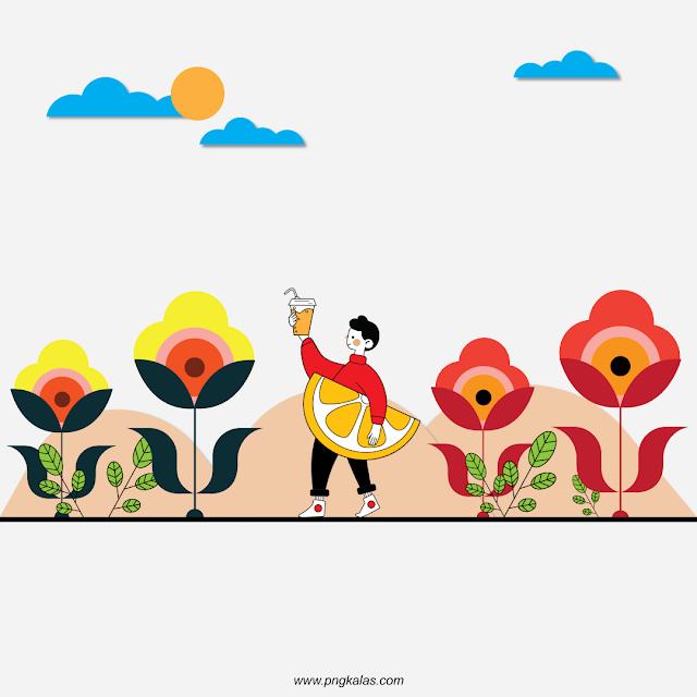 Drawn Vector, vector illustration