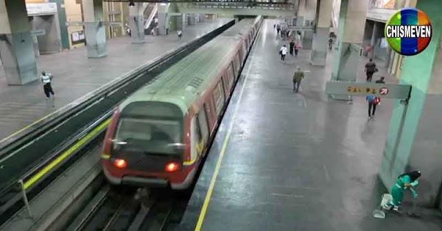 Por falta de mantenimiento se descarriló un tren del Metro de Caracas en Palo Verde