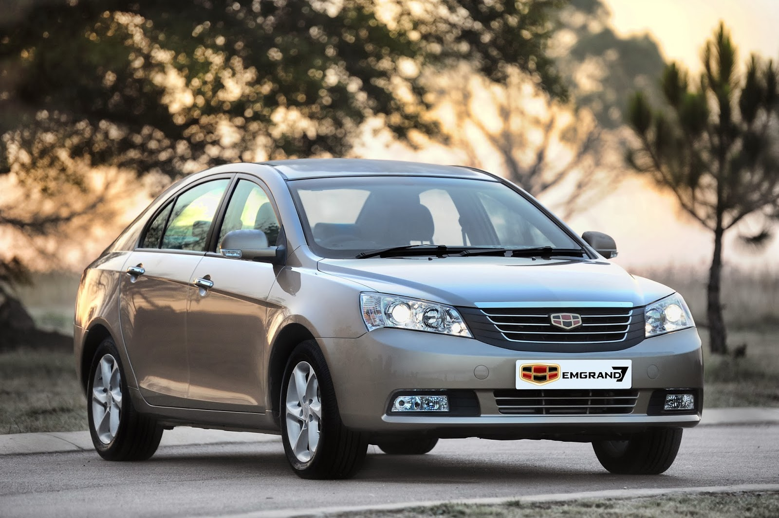 Geely Emgrand Ec7 The Compact Saloon S Dragon Auto