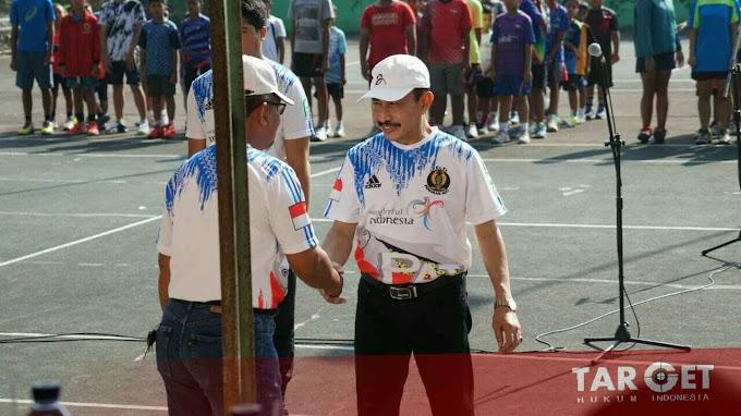 Bupati Haryanto Ungkap Alasan Panitia Ikutsertakan Atlet Luar Daerah di Turnamen Tenis Piala Bupati Cup