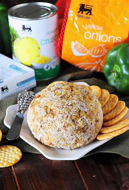 Pineapple Cheese Ball with Walnuts Image