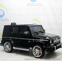 Mobil Mainan Aki Pliko PK-G3N Mercedes Benz G63 AMG Lisensi