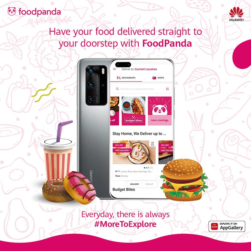 FoodPanda arrives at Huawei AppGallery