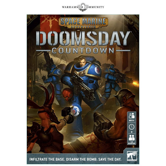 Space Marine Adventures: Doomsday Countdown