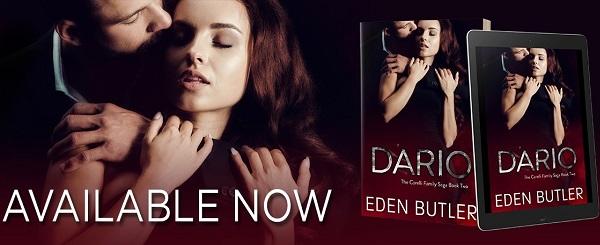 Available Now. Dario by Eden Butler.