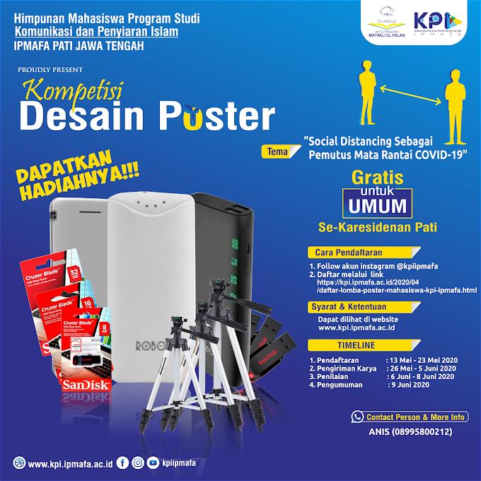 Daftar Lomba Poster HMPS KPI IPMAFA
