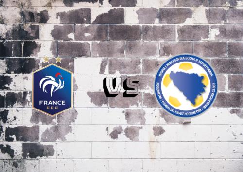 Francia vs Bosnia-Herzegovina  Resumen y Partido Completo