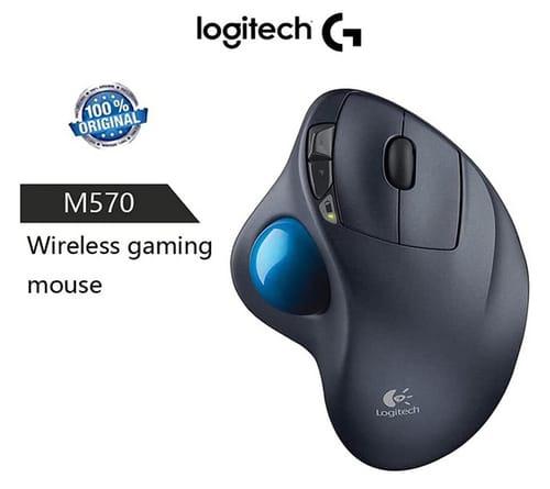 Bundle Logitech M570 Wireless Trackball Mouse