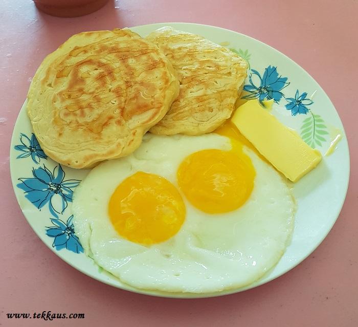 Pancake Sunnyside Egg Salted Butter