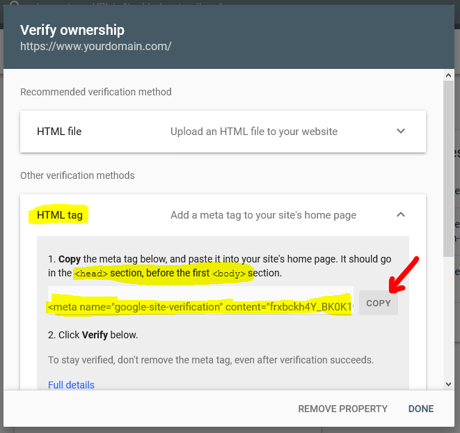 How to Verify Blogger on Google Search Console Tamil