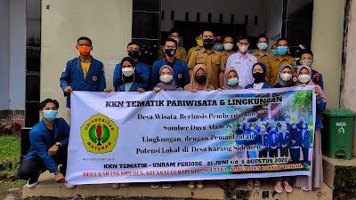 Peserta KKN Tematik Unram di Karang Sidemen Disambut Baik Kepala Desa