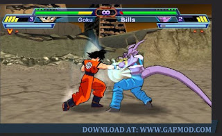 Dragon Ball Z Shin Budokai 2 PPSSPP File Download