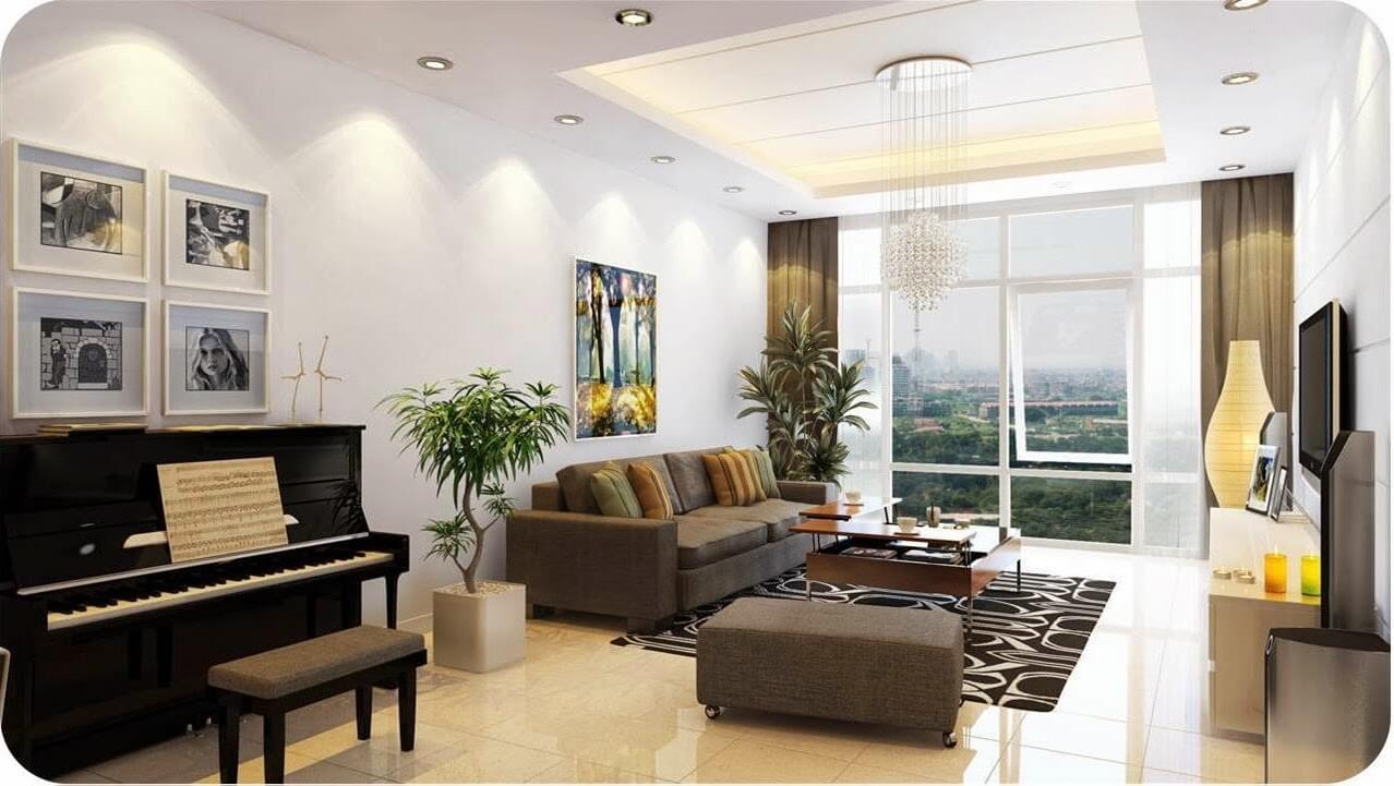 Phối cảnh dự kiến 1 căn hộ Sun Grand City Quảng An - Tây Hồ.