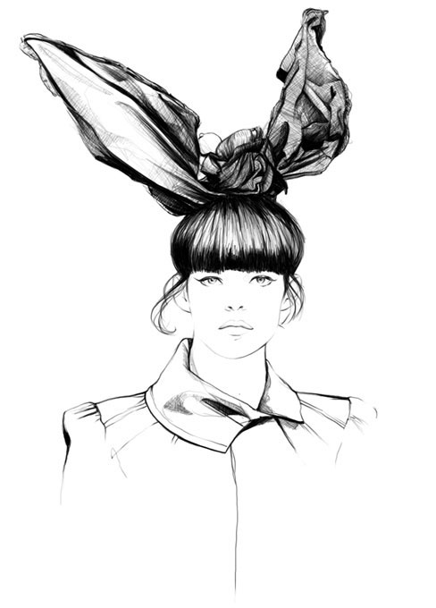 .: Amazing Fashion Illustrations by Caroline Andrieu