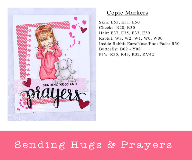 Heather's Hobbie Haven - Sending Hugs and Prayers Card