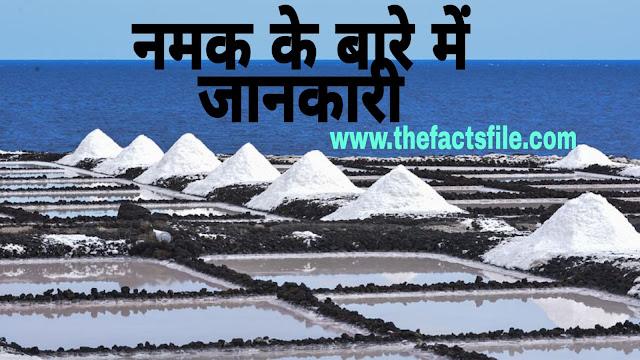 Amazing Facts about Salt in Hindi - नामक के बारे में पूरी जानकारी