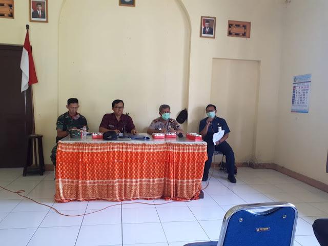 Kodim Sragen - Rapat Koordinasi Waspadai Covid-19 Di Kecamatan Gondang