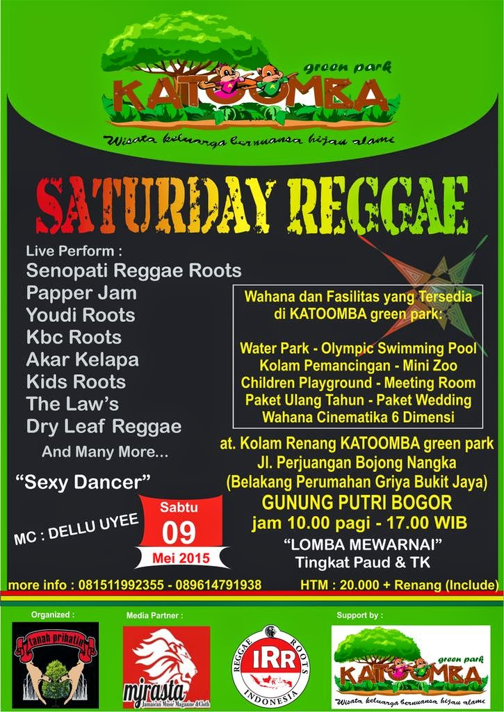 Event : Saturday Reggae Katoomba