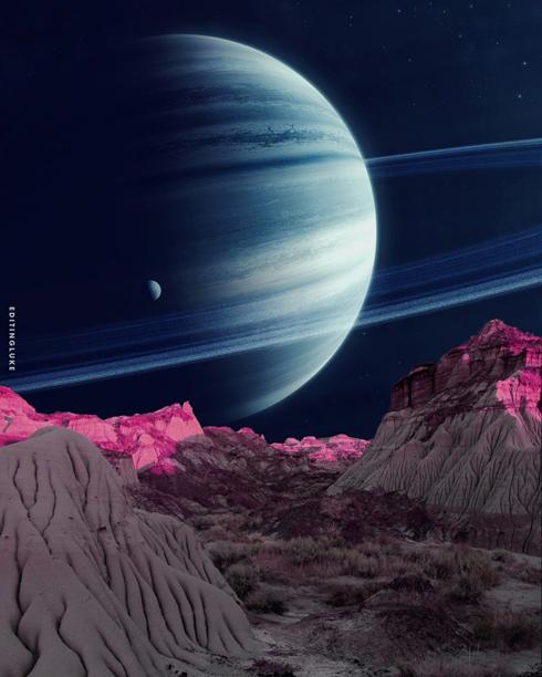 Interstellar Badlands Print