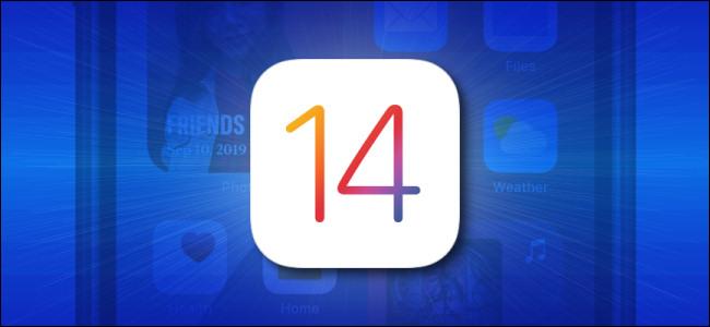 شعار Apple iOS 14 و iPad OS 14