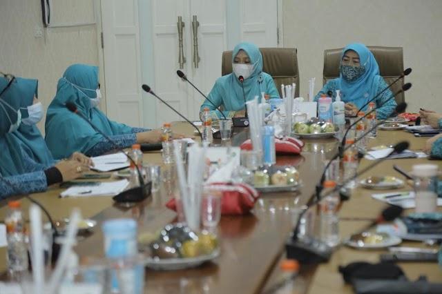 Dyah Ajak Jajaran PKK Kota Banda Aceh Sosialisasikan Vaksin Covid-19