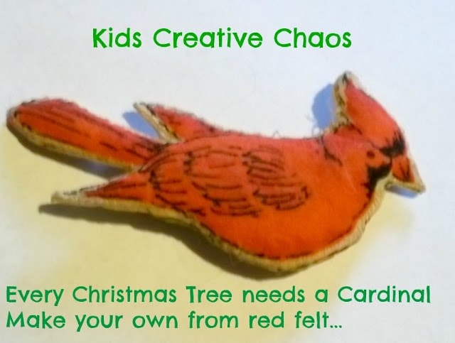 Legend of the Christmas Tree Cardinal Decoration.