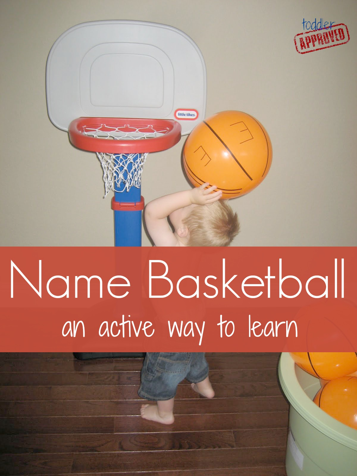 Toddler Approved Name Basketball