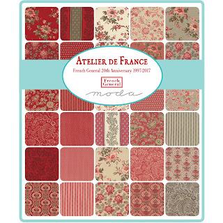 Moda Atelier de France Fabric by French General for Moda Fabrics