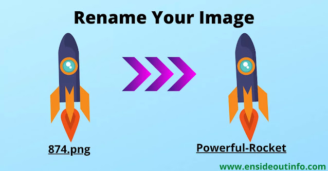 Rename Image to Optimize Image for your Blog