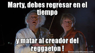 Volver al futuro Sin Reggaeton