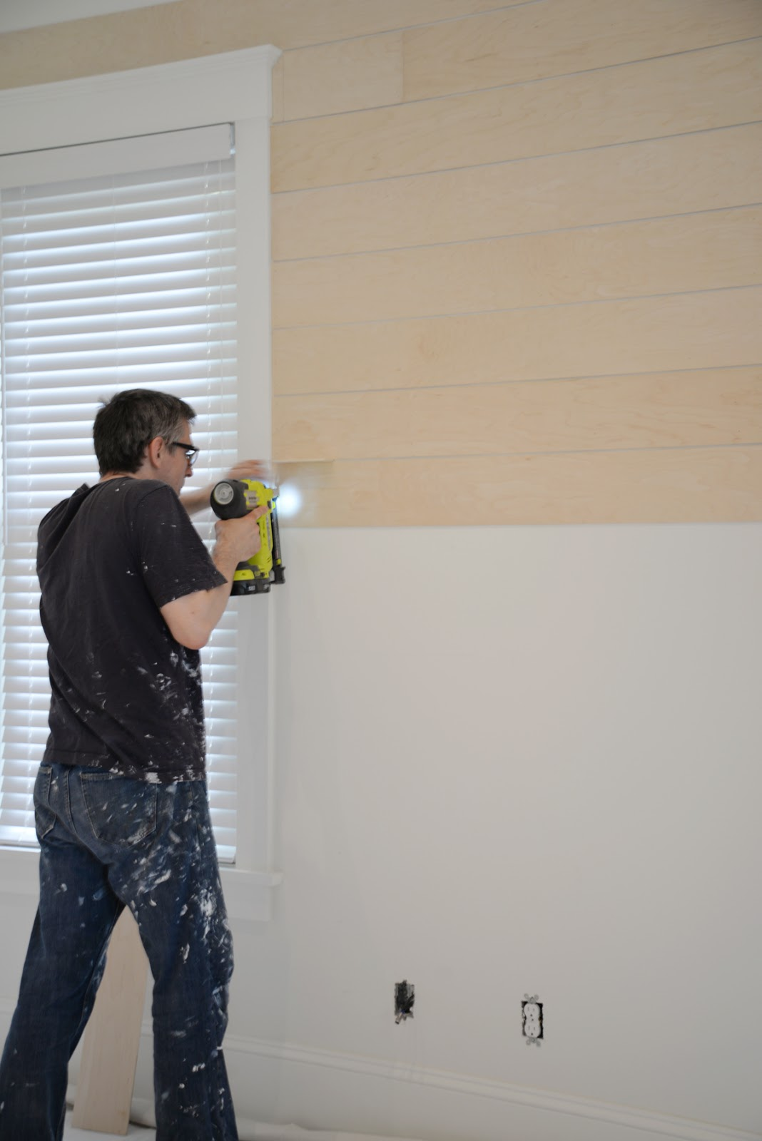 what you need to know before you diy shiplap, plywood shiplap installation | Ramblingrenovators.ca