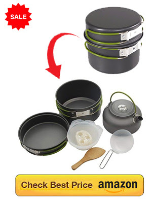 Folding Cooking Utensils for Outdoor: Space Saving