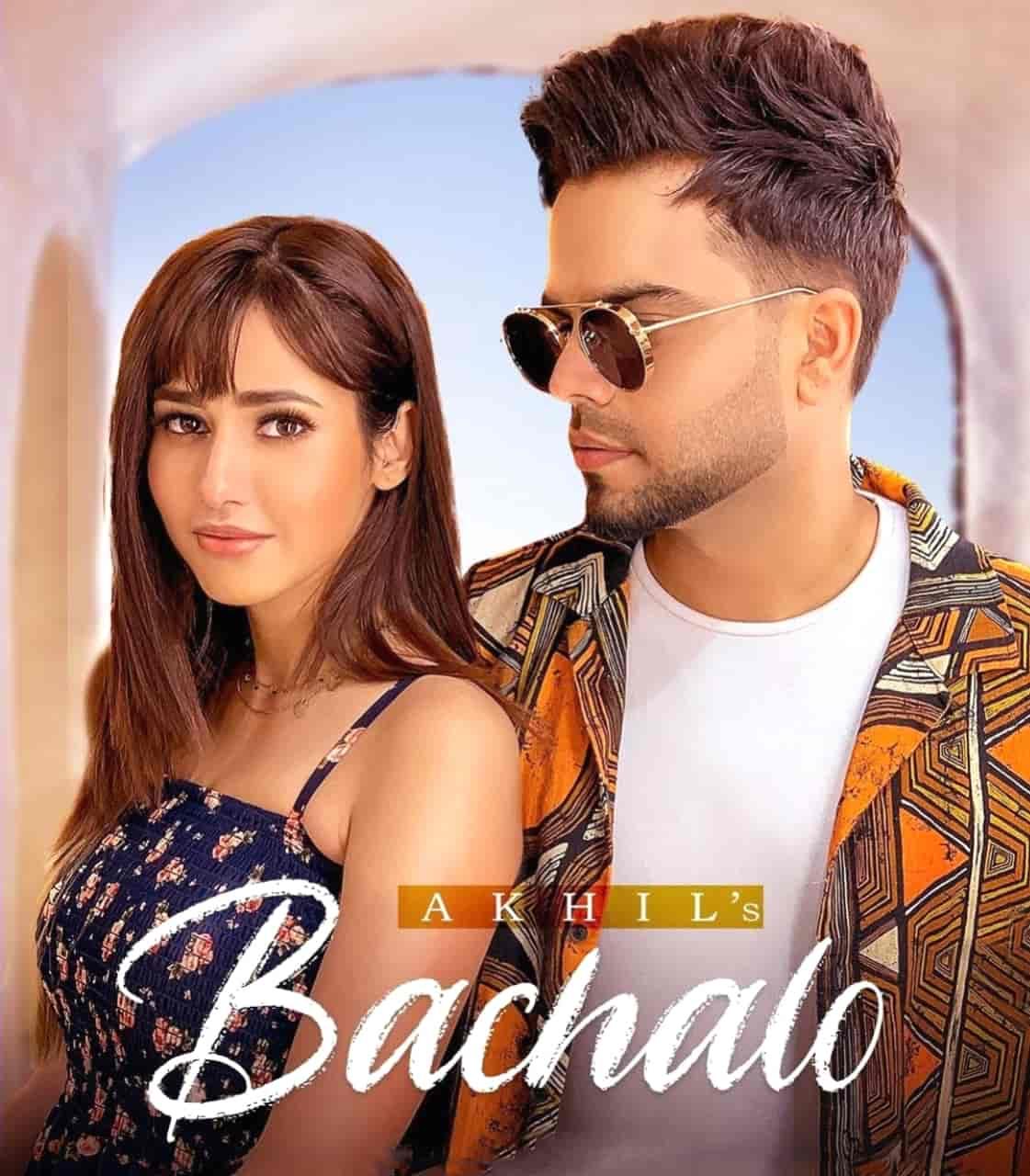 Bachalo Punjabi Song Image Features Akhil and Rumman Shahrukh