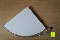 eingepackt: KROLLMANN hochwertige Eck Badablage mit Glasboden und Reling