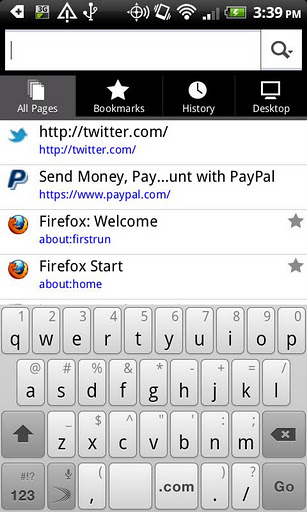 Free APK Android Apps: Firefox v8 0 - Download APK
