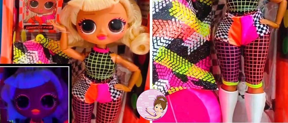 Speedster L.O.L. O.M.G. Lights 2020 doll racer