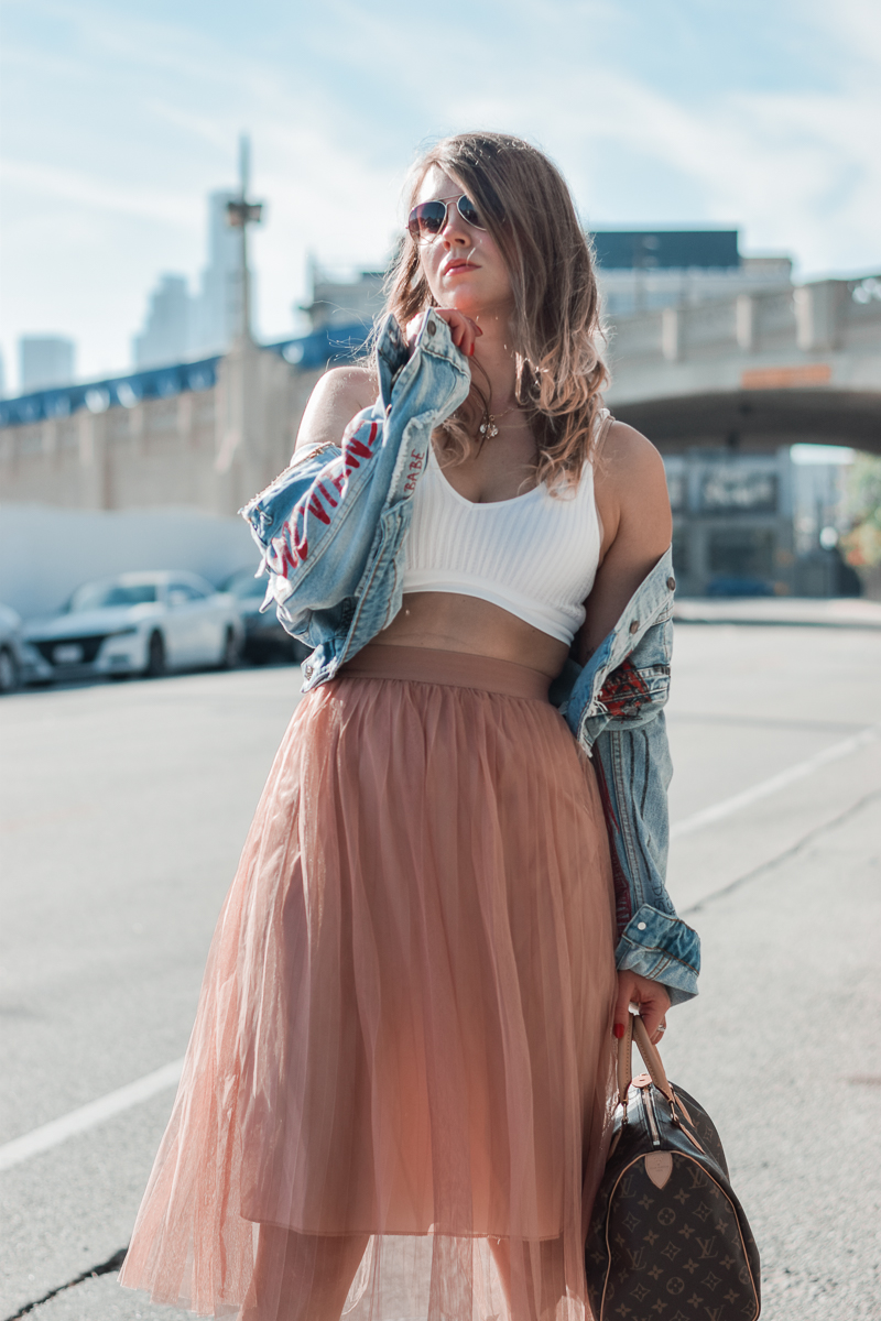 how to style tulle as an adult