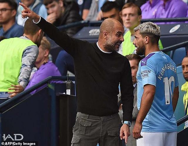 Chấn động Man City: Aguero cãi nhau với Pep Guardiola, phòng thay đồ dễ loạn 2