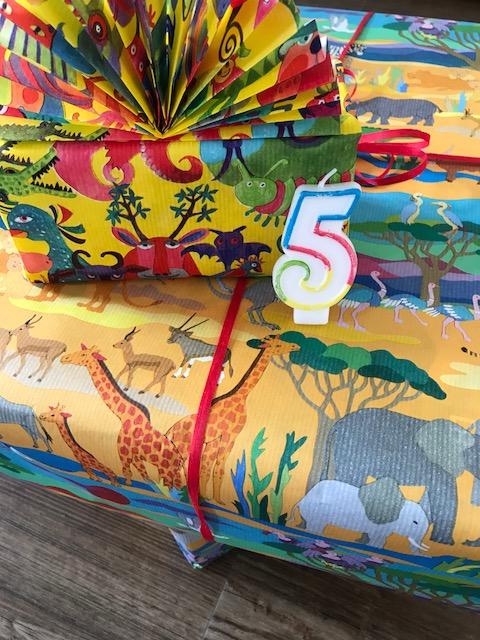 Geschenke zum 5. Geburtstag